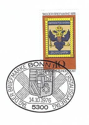 Brd 1976: Tag Der Briefmarke Nr. 903 Mit Bonner Ersttags-sonderstempel! 1a! 155