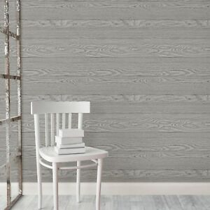 Peel And Stick Charcoal Grey Shiplap Rustic Wood Plank