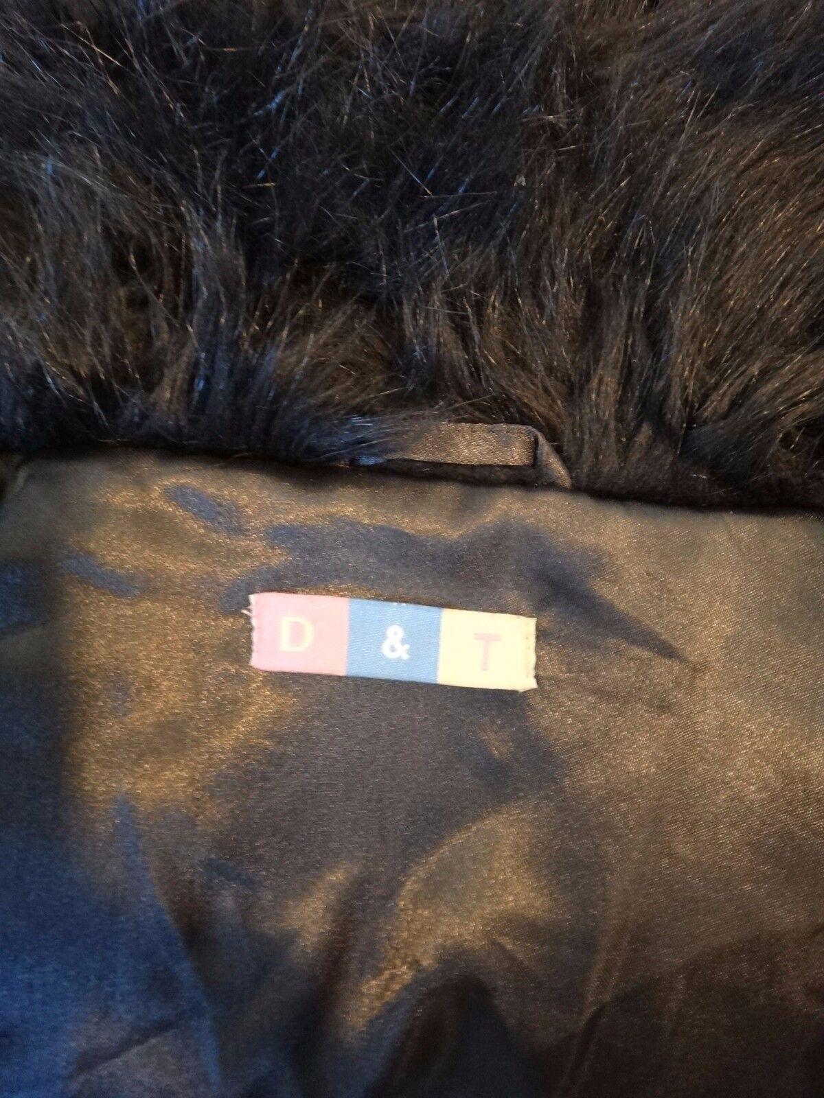 FAUX FUR Bear brown long bolero short cut cut cut off shrug club disco XL sleeves crop 2ffb1a