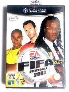Fifa-Football-2003-Gc-Game-Cube-Scelle-Retro-Jeu-de-Nouveau-Neuf-Pal-Spa
