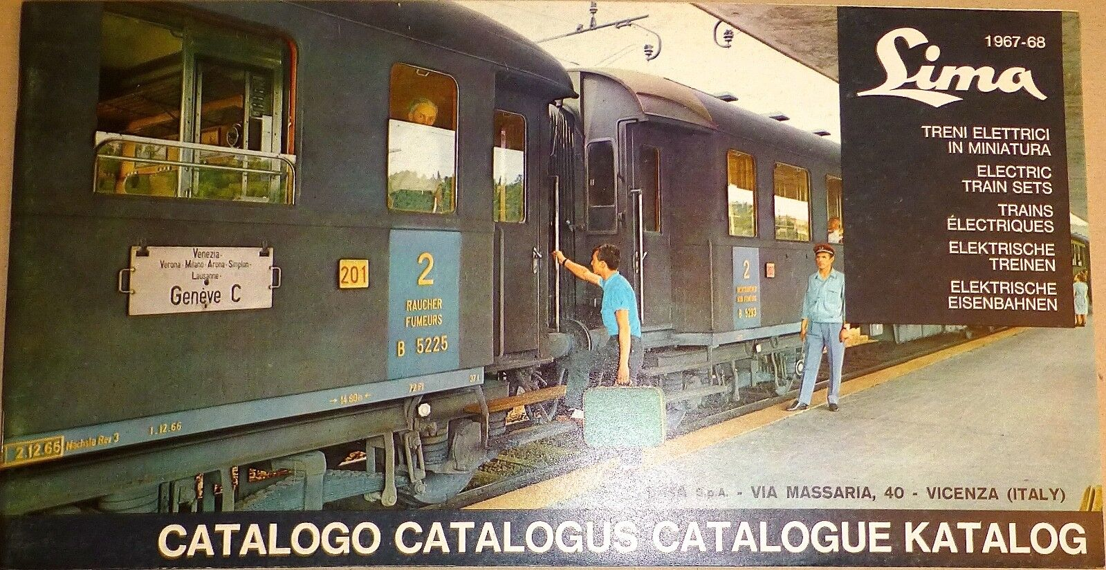 LIMA Katalog 1967-68 H0 Katalog å