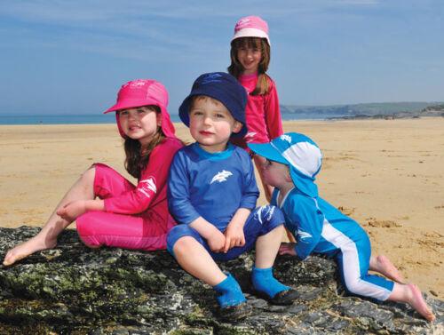 Konfidence UV Shirt Hellblau//Dunkelblau für Babys und KleinkinderUVPF50 NEU/&OVP