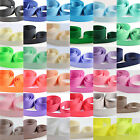 25mm GROSGRAIN RIBBON *41 COLOURS* WEDDING INVITE DUMMY CLIPS CRAFTS GROSS GRAIN