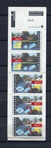S13709) Netherlands Holland MNH 1991, c.55 +75 Booklet L41 (PB41)