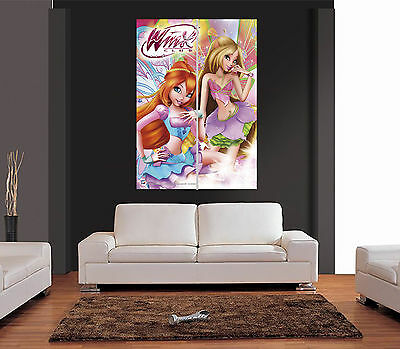 WINX CLUB FAIRY Giant Wall Art Print Picture Poster