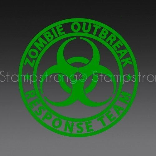5 Inch ZOMBIE OUTBREAK RESPONSE TEAM Vinyl Decal Sticker Die Cut
