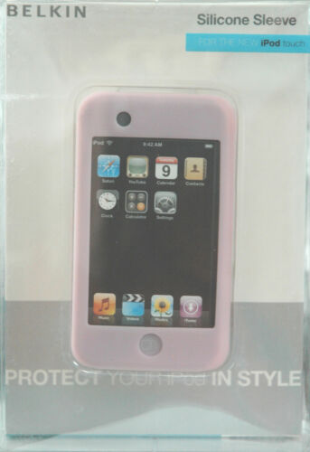 BRAND NEW Belkin F8Z225 PINK Cameo Silicone Sleeve for iPod touch 8GB 16GB