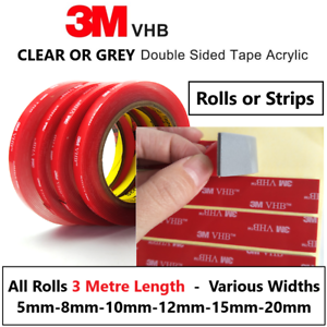 Double Sided Tape 3M Sticky Pads Roll 3M VHB Strong Adhesive Heavy Duty Tape 3M