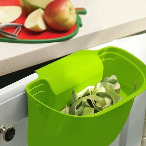ORION Auffangschale für Küchenabfälle aus dem Tisch für Schublade Küchenschrank