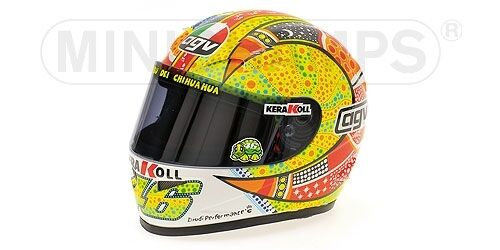 Helmet AGV valentino rosi phillip island motogp 2007 1 2 replica Model
