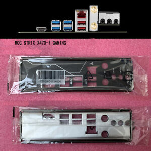 For-ASUS-STRIX-X470-I-GAMING-IO-I-O-SHIELD-Backplate-NEW-Back-Plate-ROG