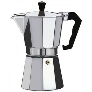 Espresso Stove Top Coffee Maker Continental Moka Percolator Pot