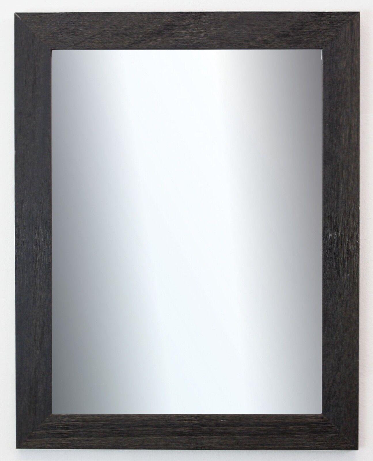 Wandspiegel Schwarz Struktur Florenz Landhaus Shabby 4,0 - NEU alle Größen