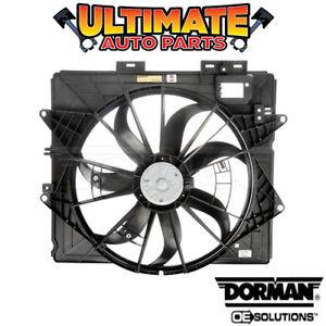 Radiator Fan Assembly For 09-15 Cadillac CTS SRX STS 3.6L V6 4.6L V8 NP27W6