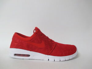 4e6cd548ff ... wholesale image is loading nike sb stefan janoski max red white  university f9fff 8db66
