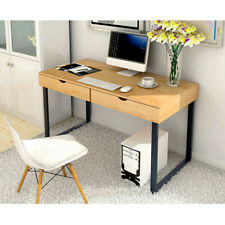 Computer Desk Home Office Desk Laptop Study Workstation Table 2 Storage Drawers