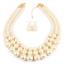 Fashion-Boho-Crystal-Pendant-Choker-Chain-Statement-Necklace-Earrings-Jewelry thumbnail 19