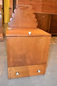 Antique-Restored-Pine-Candle-Box-19th-century-furniture-chest