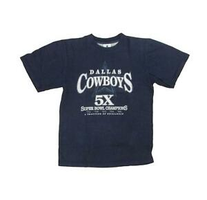 Image is loading Dallas-Cowboys-5X-Super-Bowl-Champions-Vintage-Football- 91f28d89b