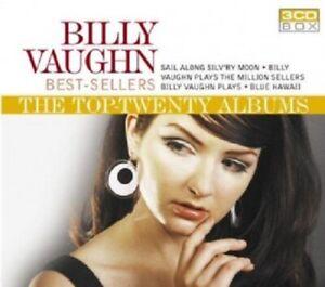 Billy-Vaughn-Best-Sellers-The-Top-Twenty-Albums-Box-Set-3-CD-Pop-New