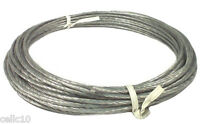 50' Hank Of 6/20 Plastic Coated Guy Wire For Antenna Mast - 20 Gauge - Down Guy