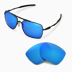 79ba3f50c60 New WL Polarized Ice Blue Replacement Lenses For Oakley Deviation ...