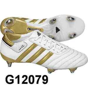 premium selection 2bc57 60f81 Das Bild wird geladen adidas-ADIPURE-3-TRX-SG-Stollen-Gr-UK-