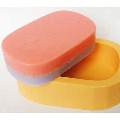 R0635 Nicole 3D Handmade Custom Soft Easy Unmold Silicone Loaf Soap Bar Moulds