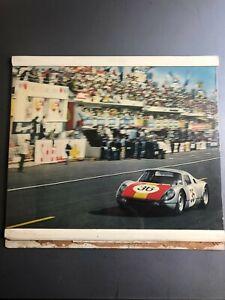 1966-Porsche-356-911-912-Christophorus-Calendar-12-Images-RARE-Awesome