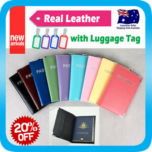 Passport-Holder-Leather-Travel-Wallet-Cover-Card-Case-Protector-Organiser-Tag