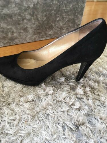 Court Bromley Heels Womens 4 Shoes Suede Black Russell Size Uk 37 wOSqRgXgWa