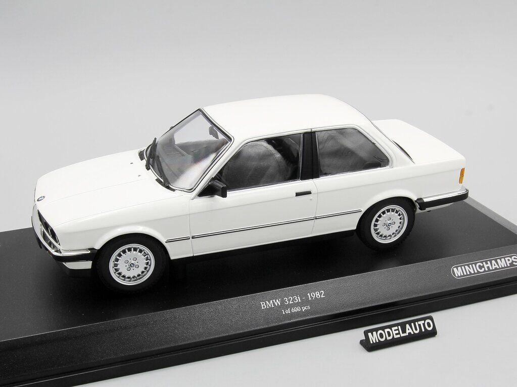 Minichamps 1 18 BMW 323I (E30), vit, 1982