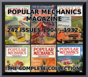 POPULAR-MECHANICS-MAGAZINE-COMPLETE-COLLECTION-242-ISSUES-1904-1932-PDF-4-DVDS