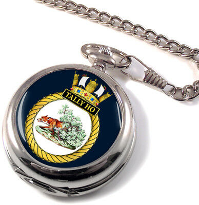 Hms Tally Ho Montre De Poche Chasseur Intégrale Watches, Parts & Accessories
