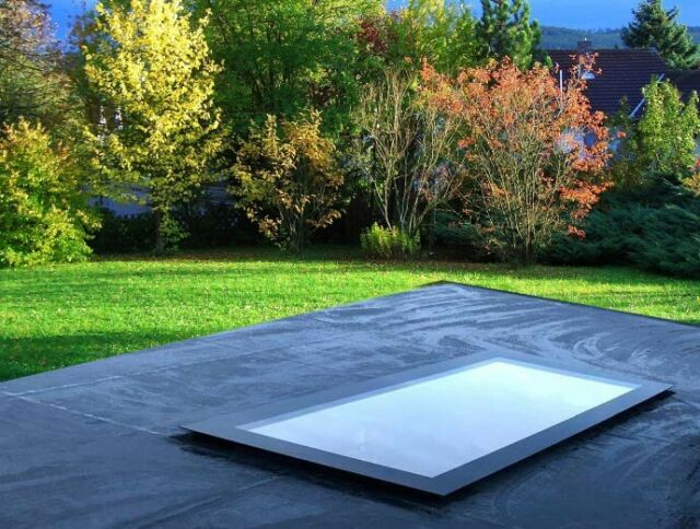 Roof Glass Flat Roof Lantern Window Skylight UK DELIVERY Various Sizes