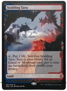 Scalding-Tarn-Expeditions-Box-Topper-Zendikar-Rising-MTG-Magic-The-Gathering