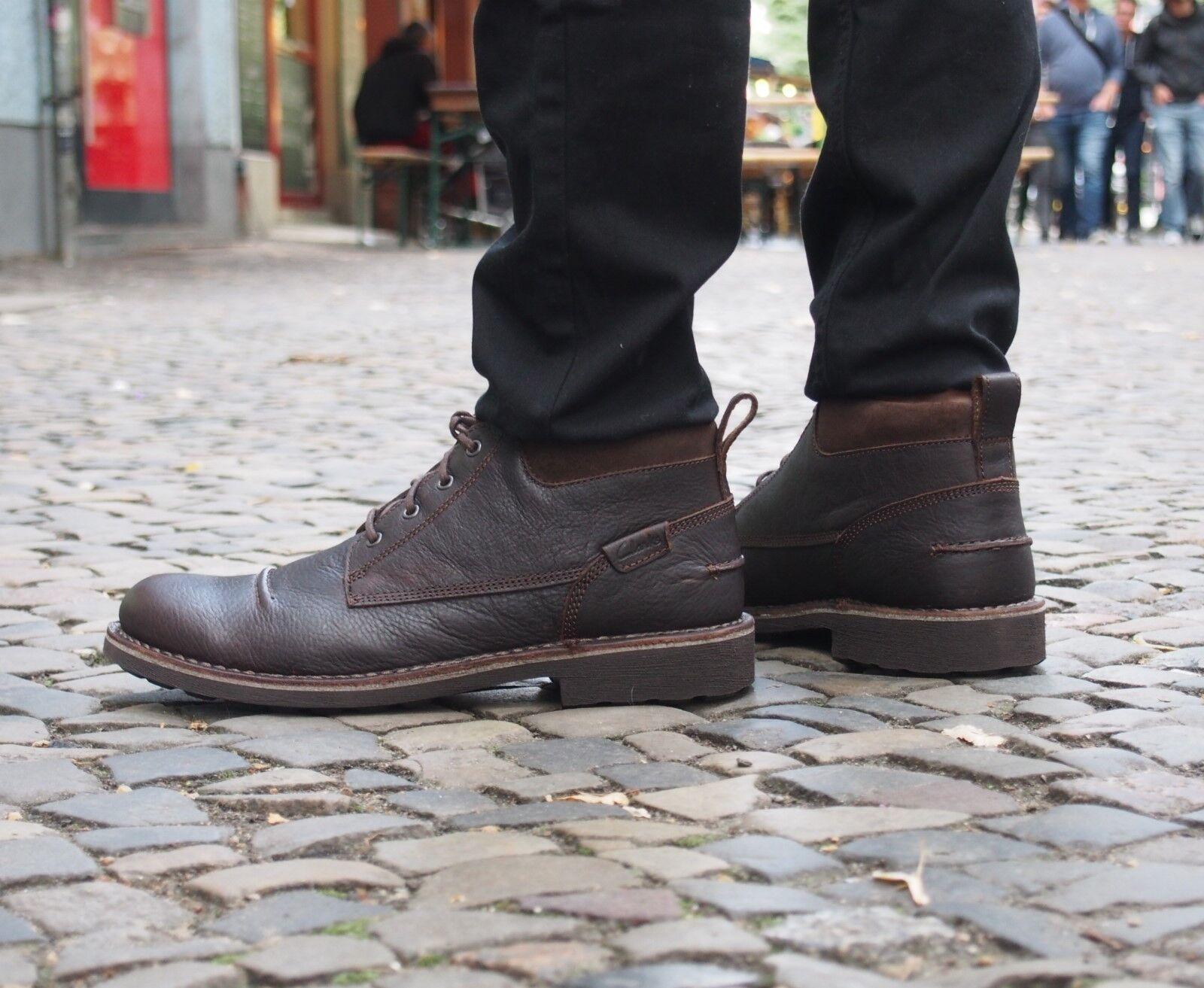 Clarks Originals Schuh Lawes Lawes Lawes Top brown Echtleder Herrenschuh Schnürboot neu SALE c4476f