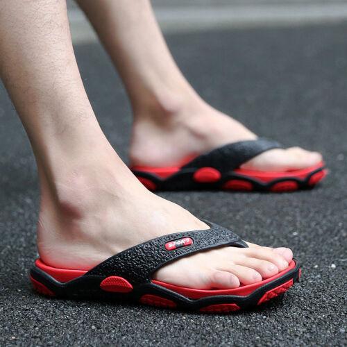 Durable Summer Men/'s Flip Flops Casual Sandals Beach Flip-flops Shoes Flats out