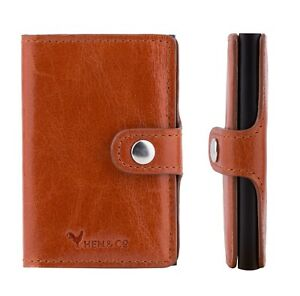 NEW-Real-Leather-Slim-Wallet-RFID-FREE-SHIPPING-5-COULOURS-HEN-AND-CO
