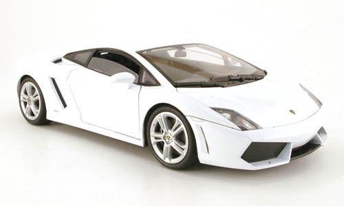 1/18 Welly Lamborghini Gallardo Lp560-4 White - White