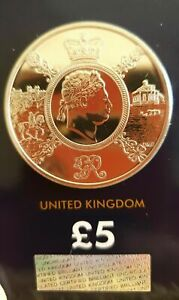 24ct-Gold-Plated-2020-King-George-III-5-Brilliant-Uncirculated-Five-Pounds-Coin