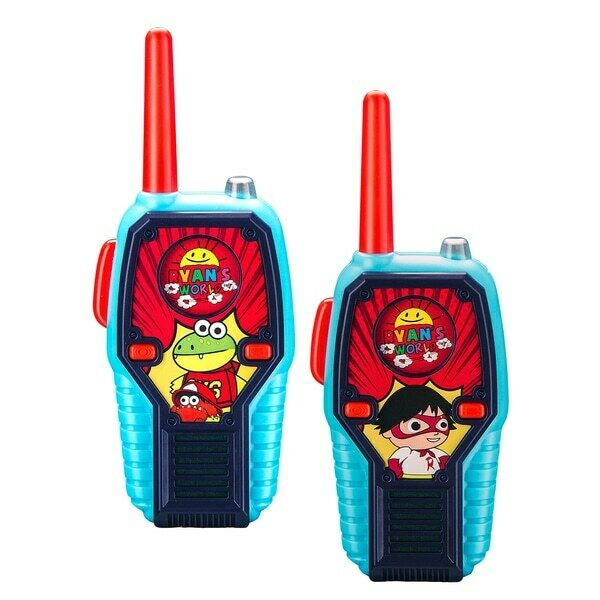 Ryan's World Lights And Sounds Walkie Talkie (NEW) (NEW) (NEW) 354fd0
