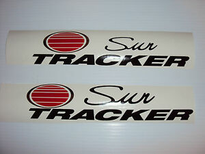 Sun Tracker boat decal stickers set  suntracker Pontoon Fast Free USA shipping