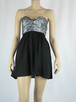 T By Bettina Liano Ladies Strapless Dress Sizes 6 8 Colour Black