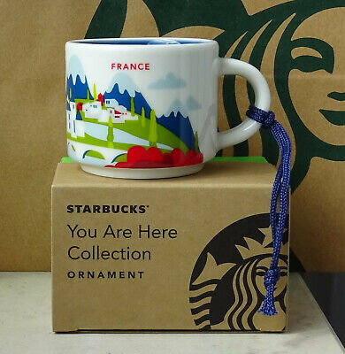Starbucks City Mug Cup You are here Series YAH Ornament Netherlands 2oz NEW