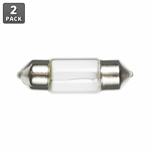 Ancor 520094 Marine Grade Electrical Light Bulb Double Contact Bayonet Base, 12-Volt, 13.3-Watt, 1.04-Amp, Clear, 2-Pack