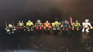 VINTAGE Micro Machines-Galoob LGTI-Z-Bots LOTTO (9) - 1992/1993