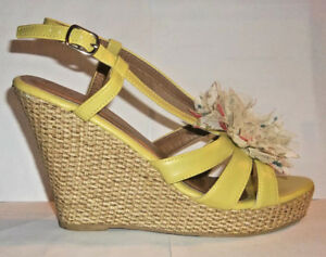 37b89f9dd308 Image is loading Forever-Strappy-Wedge-Heel-Sandals-Size-8-M
