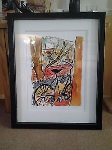 Bob-Dylan-Hand-Signed-Limited-Edition-Print-Bicycle-2009