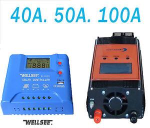 40A-50A-100A-AutoSwitch-Regler-Solar-Regler-charge-Regler